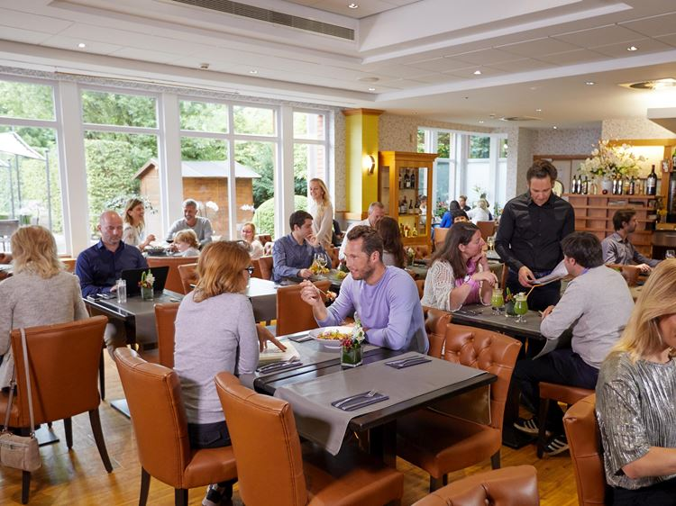 Restaurant in Aspria Brussels Royal La Rasante