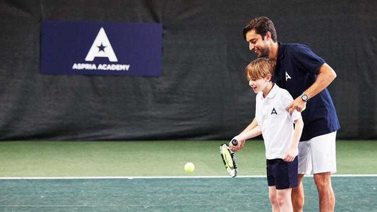 Tennis classes for Aspria Juniors (6-8 years old)