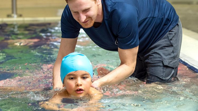 Aspria children's swimmig classes