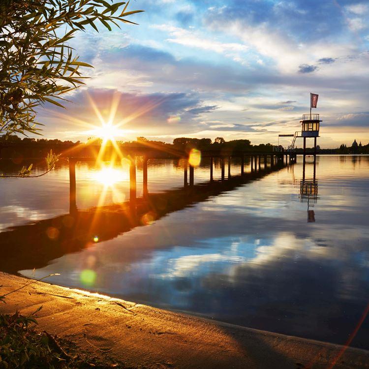 Un cadre idyllique sur les rives du lac - Aspria Hanovre