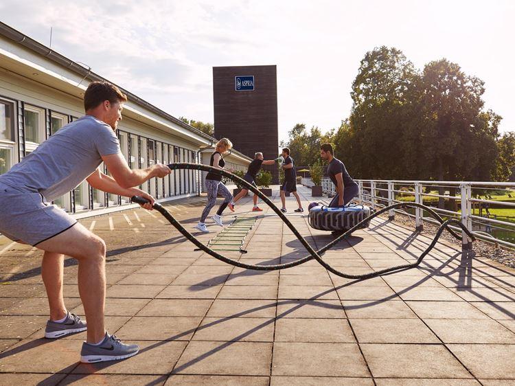 Aspria Hannover, der Fitness-Club direkt am Maschsee