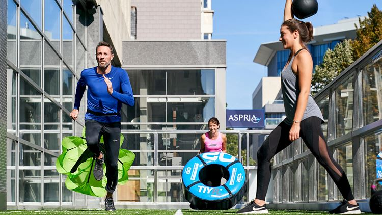 Aspria Arts-Loi Brussel, Functional Fitness Training Outdoor