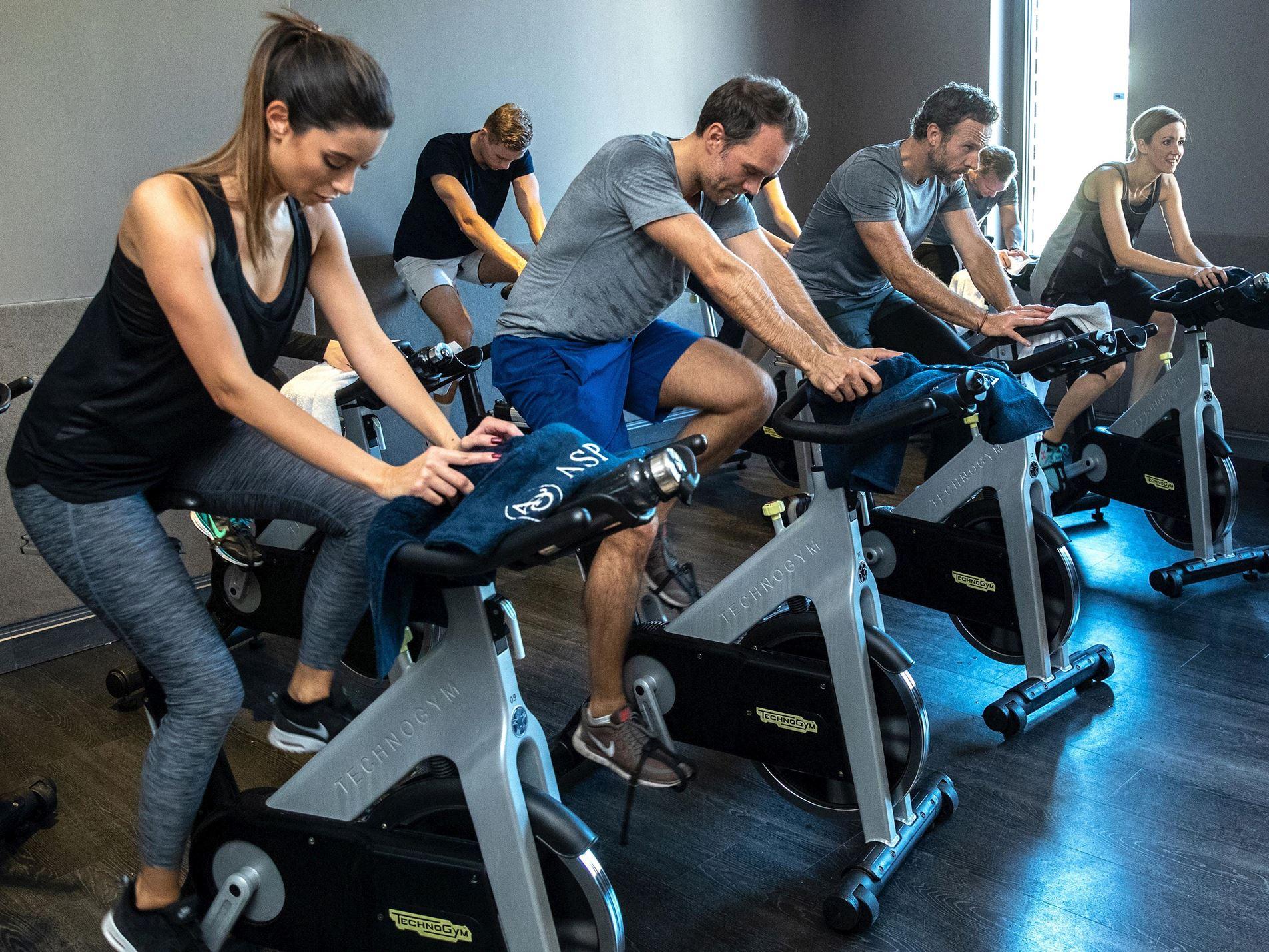 Devenez membre d'un Aspria Fitness club