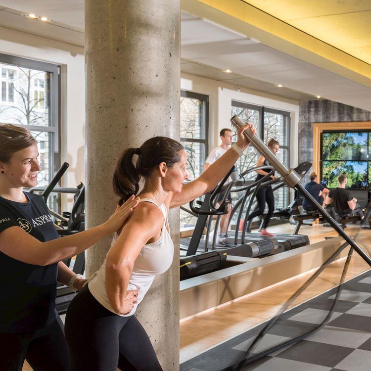 Fitness und Personal Training bei Aspria Berlin Ku'damm