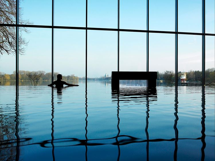 Natation Infinity Pool Aspria Maschsee, Hanovre