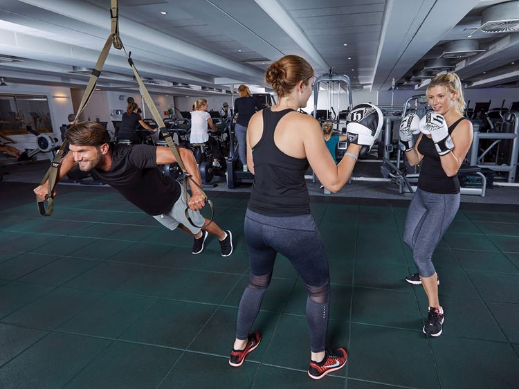Functional Fitness Training à l'Aspria Arts-Loi, Bruxelles