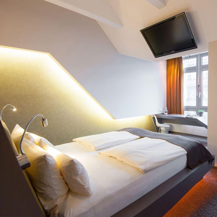 Hotel kamer Deluxe King - Aspria Hotel Ku'damm, Berlijn