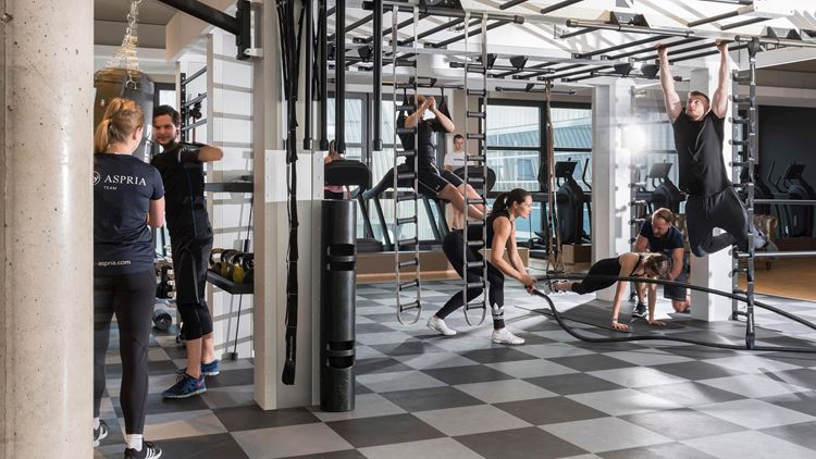 Sport and Fitness at Aspria Hotels