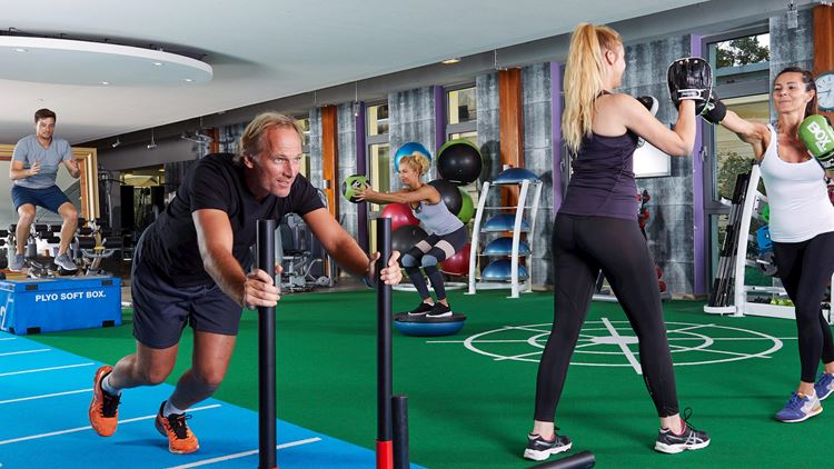 Functional Fitness Training bei Aspria Hannover Maschsee