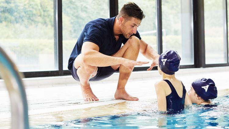Aspria cours de natation pour les entfants