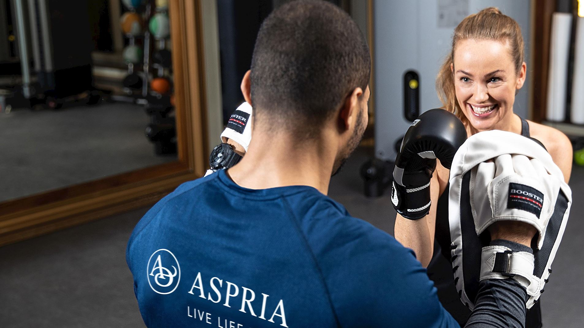 Reach your wellbeing goals at Aspria