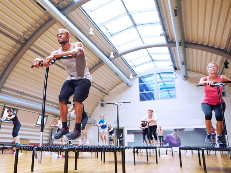 Aspria Club Berlin Ku'damm - Jumping Fitness