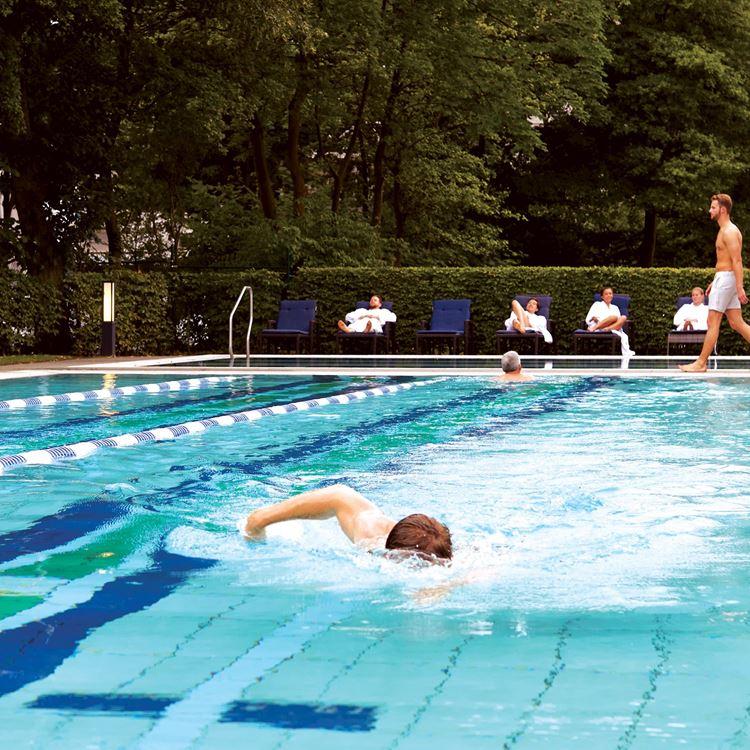 Schwimmen und Aqua Fitness bei Aspria