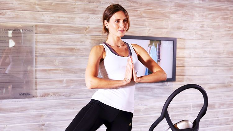 Vibration Training for your fitness at Aspria