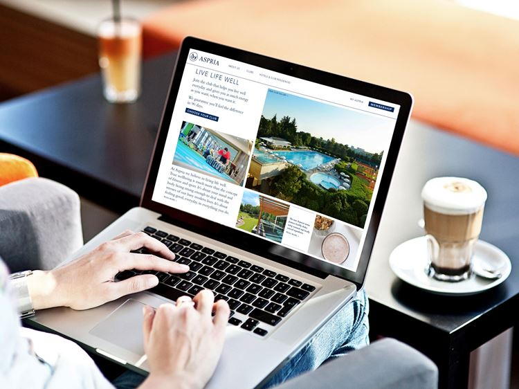 myASPRIA, die exklusive online Plattform für Aspria Mitglieder