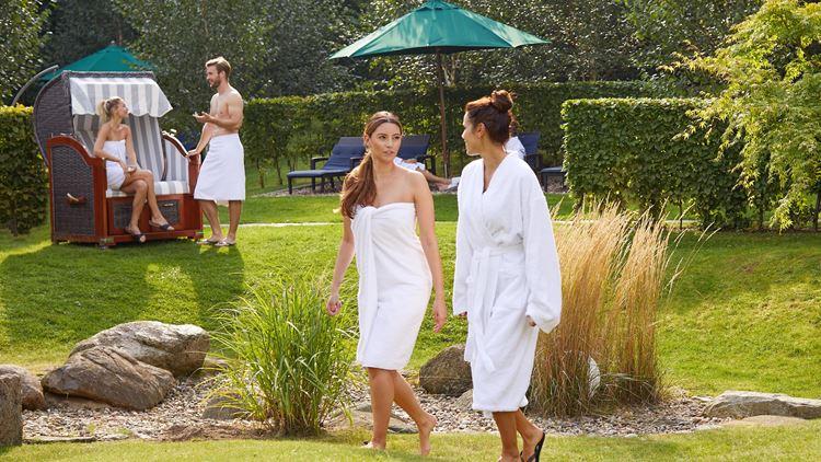 Aspria Wellness-Hotels. Spa-Garden.