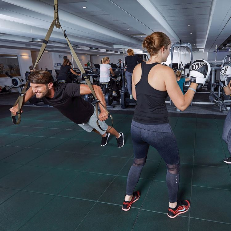 Personal training for individuals and small groups at Aspria Arts-Loi