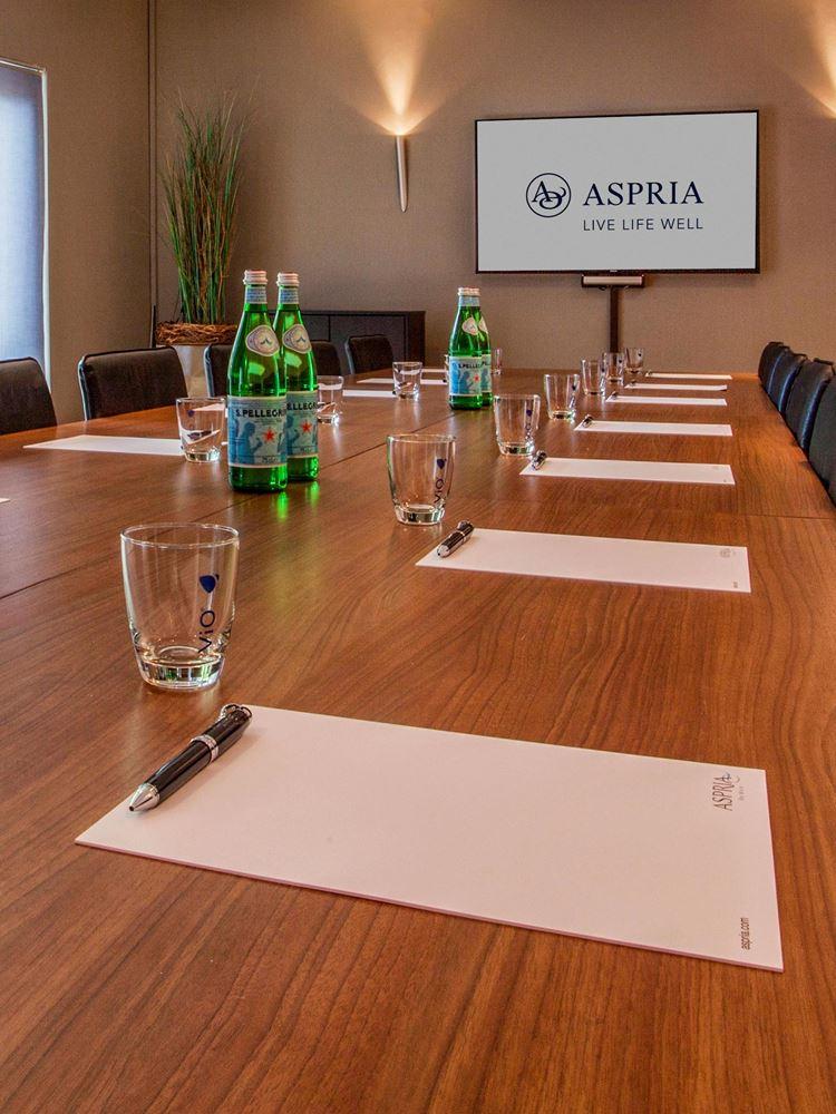 Team-Building und Business-Meetings bei Aspria Hamburg Alstertal