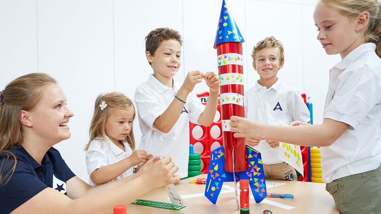 Academy courses at Aspria are fun for children