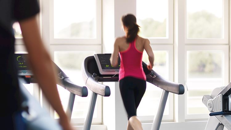 Cardio-Fitness-Training bei Aspria Hannover Maschsee