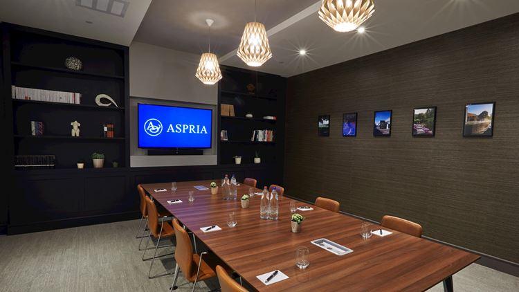 Aspria Avenue Louise - salle de conférence