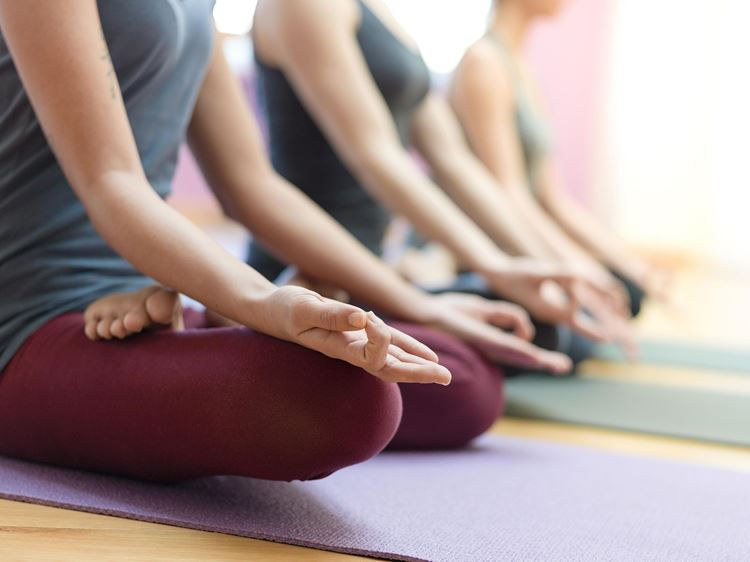 Yoga, Pilates und Entspanungskurse bei Aspria in Hamburg