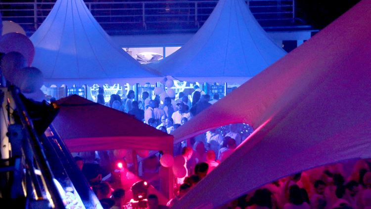 White Night Party im Aspria Club Hannover Maschsee