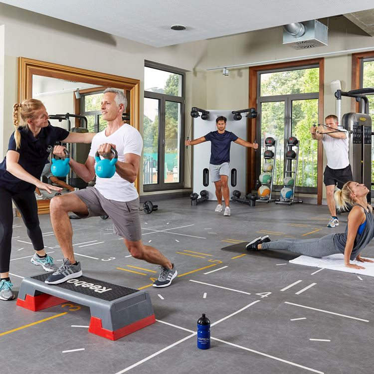 Sports and Fitness Training at Aspria Hamburg Uhlenhorst