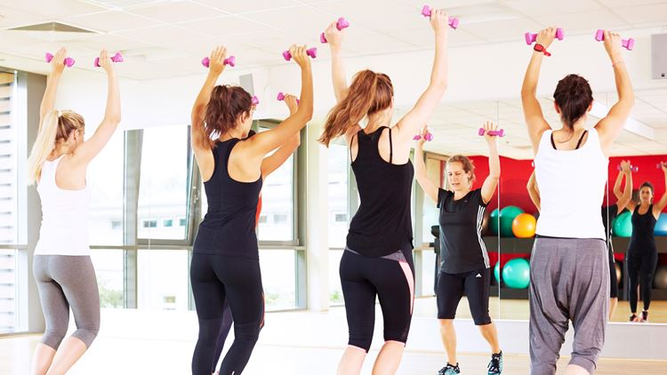 Group Exercise Classes at Aspria Royal La Rasante in Brussels